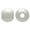 Round Pearl Bead (Drilled) 06mm Cream