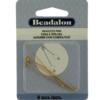 Head Pins, Ball & Star, 2.0 in (50.8 mm),Gold Color, 6pcs