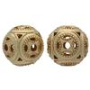 Gold Plated Filigree Bead 11MM