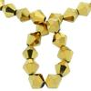 Spark Bicone Beads Aurum 8mm