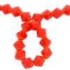 Spark Bicone Beads Cardinal Red 8mm