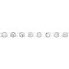 Rhinestone Banding ss19 Crystal/Chalkwhite 1 Row Wide