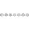 Rhinestone Banding ss29 Crystal/Chalkwhite 1 Row Wide