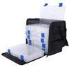 Fabric Box Case W/Boxes Bead Traveler Storage Box