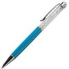 Crystal 2 in 1 Touch Screen Stylus with Pen Blue