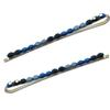 Rhinestone Bobbie Pins - Dark Blue