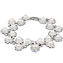 Pearl Zig Zag Tennis Bracelet