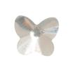 Spark Butterfly Flat Back Crystal 9x8mm