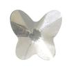 Spark Butterfly Flat Back Crystal 6x5.5mm