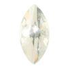 Spark Navette Flat Back Crystal 8x4mm