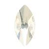 Spark Navette Flat Back Crystal 10x5mm