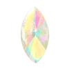 Spark Navette Flat Back Crystal AB 10x5mm