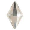 Spark Diamond Shaped Flat Back Crystal 10x6mm