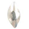 Spark Diamond Leaf Flat Back Crystal 8x4mm