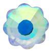 Spark Flower Flat Back Crystal AB 6mm