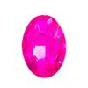 Spark Oval Fancy Stone Fuchsia 18x13mm