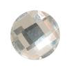 Spark Chessboard Circle Flat Back Crystal 6mm