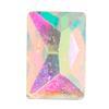 Spark Cosmic Flat Back Crystal AB 6x4mm
