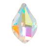 Spark Flame Flat Back Crystal AB 8x5mm