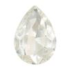 Spark Pear Shaped Fancy Stone Crystal 14x10mm