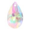 Spark Pear Shaped Pendant Crystal AB 28mm