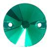 Spark Rivoli Sew-on Emerald 14mm