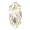 Spark Navette Fancy Stone in Sew-on Setting Crystal 5x2mm