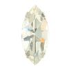 Spark Navette Fancy Stone in Sew-on Setting Crystal 15x7mm
