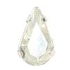 Spark Pear Fancy Stone in Sew-on Setting Crystal 6x3.6mm