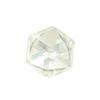 Spark Flat Back Cube Fancy Stone Crystal 4mm
