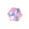 Spark Flat Back Cube Fancy Stone Crystal Vitrail Medium 4mm