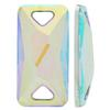 Sew on Acrylic Rhinestones Rectangle Crystal AB 30x15mm