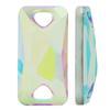 Sew on Acrylic Rhinestones Rectangle Crystal AB 9x8mm