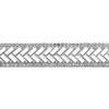 "Rhinestone Iron On Banding Crystal 3/4"""