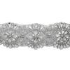 Crystal/Silver Rhinestone Trim