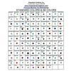 PRECIOSA MACHINE CUT Rhinestone Color Chart