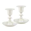 Silver Plated Candlestick Holders (2 PCS)