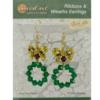 TierraCast® Ribbons and Wreaths Earrings Set