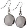 Circle Dangle Earrings for Embellishing