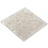 Swarovski 72003 Crystal Rocks Washable Square 40 mm Silver Shade