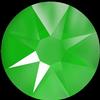 Swarovski 2088 XIRIUS Rose Flat Back Crystal Electric Green SS12