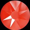 Swarovski 2088 XIRIUS Rose Flat Back Crystal Electric Orange SS12