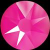 Swarovski 2088 XIRIUS Rose Flat Back Crystal Electric Pink SS12