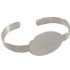 Flat Cuff Bracelet, Oval