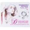 Dreamtime Creations White Swarovski Crystals Nail Art Work Mat/Mouse Pad