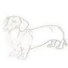 Iron On Transfer - Dachshund Dog Breed