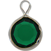Lucite (Acrylic) Channel Emerald 8mm