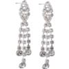"2"" Rhinestone Dangle Earring"