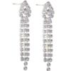 "1 1/2"" Rhinestone Dangle Earring"