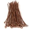 Eye Pins, 2 Inches, 20 Gauge, Copper, 50 pc. pkg